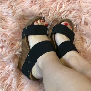 Shoes - Elastic band sandals 6
